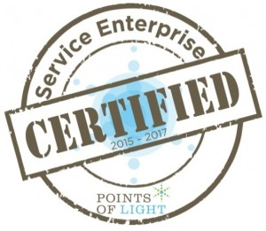 A Service Enterprise is an organization that effectively engages volunteers to meet its mission. Neighbors was certified in 2014!