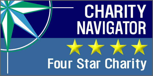 Charity Navigator Four Star Charityl