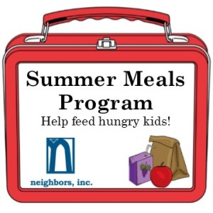 Please pitch in and help serve breakfast and lunch at local schools this summer.