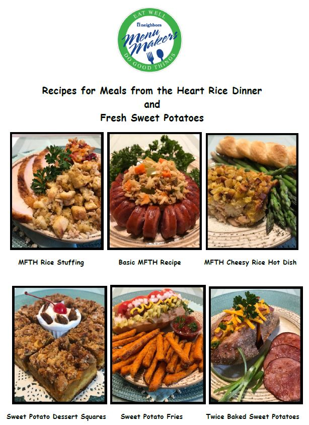 December menu makers meals from the heart rice dinner and fresh december recipesg forumfinder Gallery