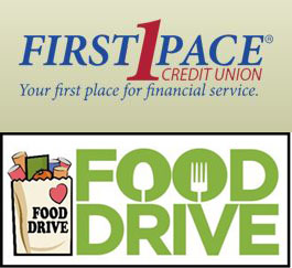 first pace credit union food drive